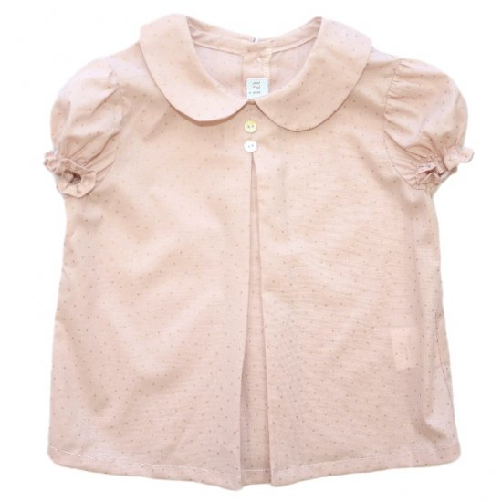 <img class='new_mark_img1' src='https://img.shop-pro.jp/img/new/icons20.gif' style='border:none;display:inline;margin:0px;padding:0px;width:auto;' />【50%OFF】Amaia Kids - Malaga blouse アマイアキッズ - 水玉ブラウス