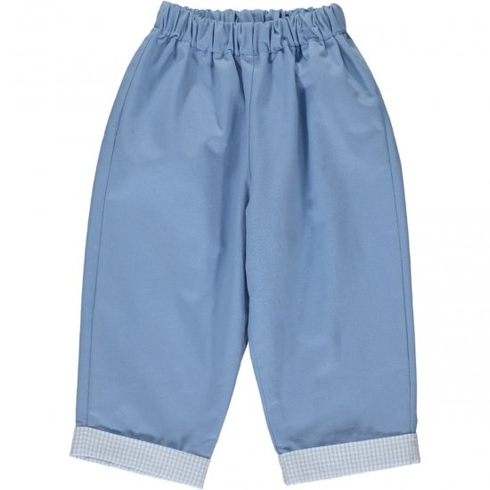 <img class='new_mark_img1' src='https://img.shop-pro.jp/img/new/icons14.gif' style='border:none;display:inline;margin:0px;padding:0px;width:auto;' />Amaia Kids - Tito trousers - Light blue アマイアキッズ - パンツ