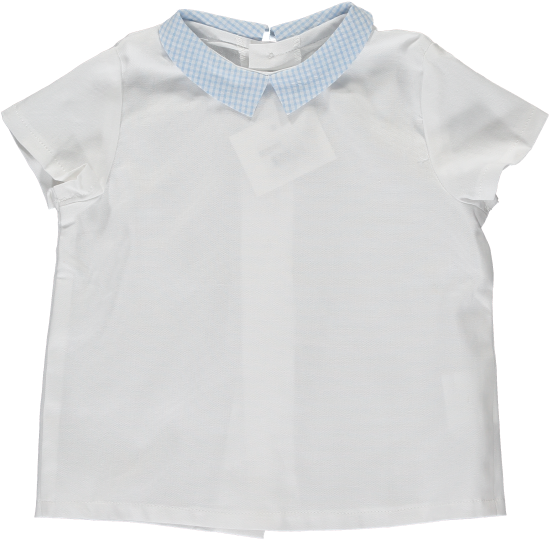 <img class='new_mark_img1' src='https://img.shop-pro.jp/img/new/icons20.gif' style='border:none;display:inline;margin:0px;padding:0px;width:auto;' />【40%OFF】Amaia Kids - Mallard shirt - Blue gingham アマイアキッズ - シャツ