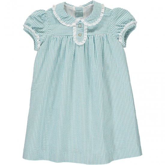 <img class='new_mark_img1' src='https://img.shop-pro.jp/img/new/icons14.gif' style='border:none;display:inline;margin:0px;padding:0px;width:auto;' />Amaia Kids - Louise dress - Aqua アマイアキッズ - ワンピース