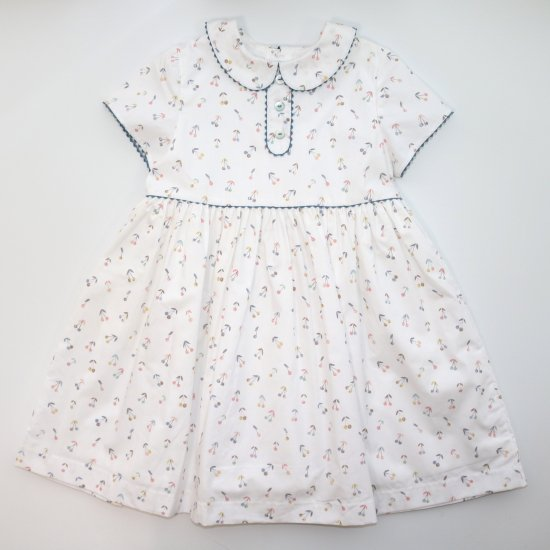 <img class='new_mark_img1' src='https://img.shop-pro.jp/img/new/icons14.gif' style='border:none;display:inline;margin:0px;padding:0px;width:auto;' />Amaia Kids - Bristol dress アマイアキッズ - チェリー柄ワンピース