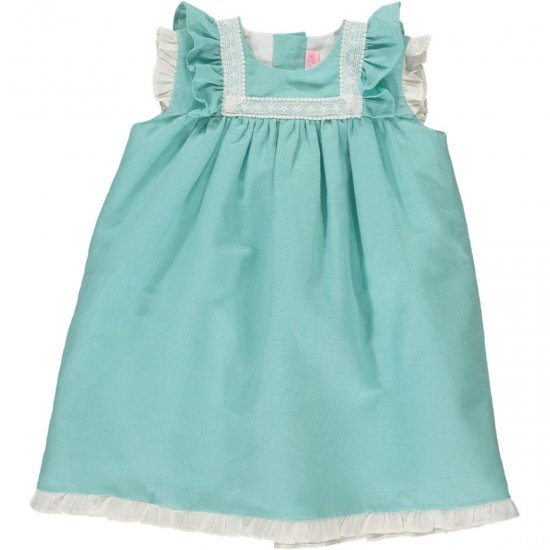 <img class='new_mark_img1' src='https://img.shop-pro.jp/img/new/icons14.gif' style='border:none;display:inline;margin:0px;padding:0px;width:auto;' />Amaia Kids - Menorca dress - Aqua アマイアキッズ - ワンピース