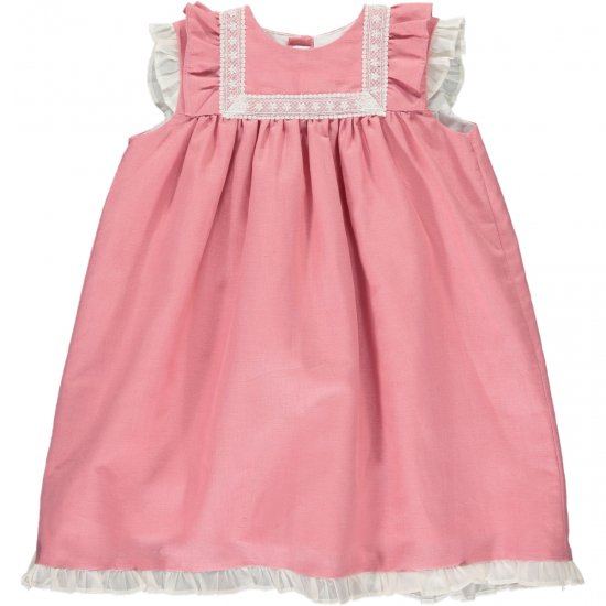 <img class='new_mark_img1' src='https://img.shop-pro.jp/img/new/icons14.gif' style='border:none;display:inline;margin:0px;padding:0px;width:auto;' />Amaia Kids - Menorca dress - Pink アマイアキッズ - ワンピース