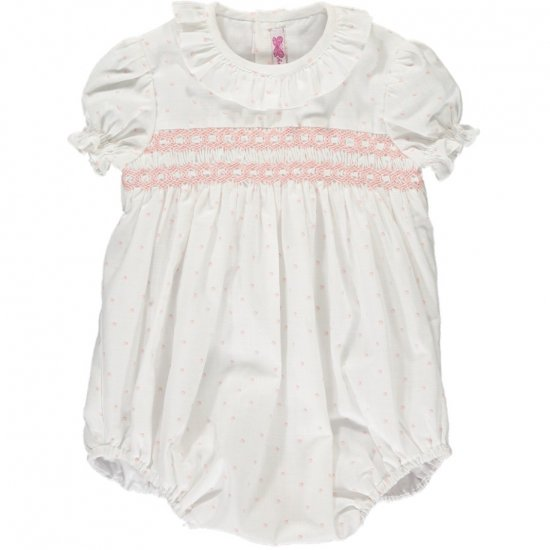 <img class='new_mark_img1' src='https://img.shop-pro.jp/img/new/icons14.gif' style='border:none;display:inline;margin:0px;padding:0px;width:auto;' />Amaia Kids - Moohren romper - Pink アマイアキッズ - ロンパース