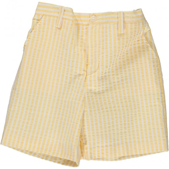 <img class='new_mark_img1' src='https://img.shop-pro.jp/img/new/icons14.gif' style='border:none;display:inline;margin:0px;padding:0px;width:auto;' />Amaia Kids - Gull shorts - Yellow stripe アマイアキッズ - パンツ