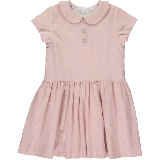 <img class='new_mark_img1' src='https://img.shop-pro.jp/img/new/icons20.gif' style='border:none;display:inline;margin:0px;padding:0px;width:auto;' />【50%OFF】Amaia Kids - Bristol dress - Pink アマイアキッズ - 水玉ワンピース