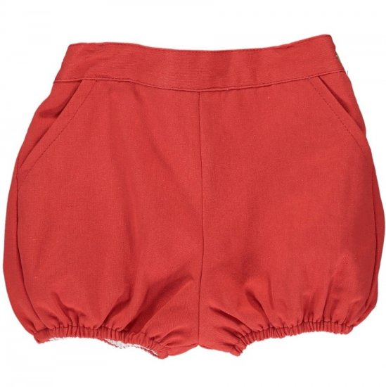 Amaia Kids - Magpie bloomer - Red アマイアキッズ - パンツ