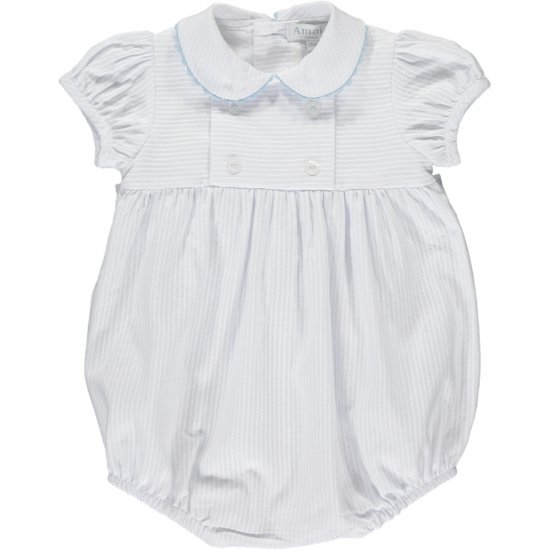 <img class='new_mark_img1' src='https://img.shop-pro.jp/img/new/icons14.gif' style='border:none;display:inline;margin:0px;padding:0px;width:auto;' />Amaia Kids - Babydoll all in one - White アマイアキッズ - ベビーロンパース