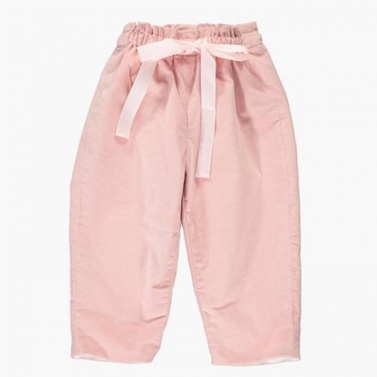 <img class='new_mark_img1' src='https://img.shop-pro.jp/img/new/icons14.gif' style='border:none;display:inline;margin:0px;padding:0px;width:auto;' />Amaia Kids - Tito trousers - Pink アマイアキッズ - コーデュロイパンツ