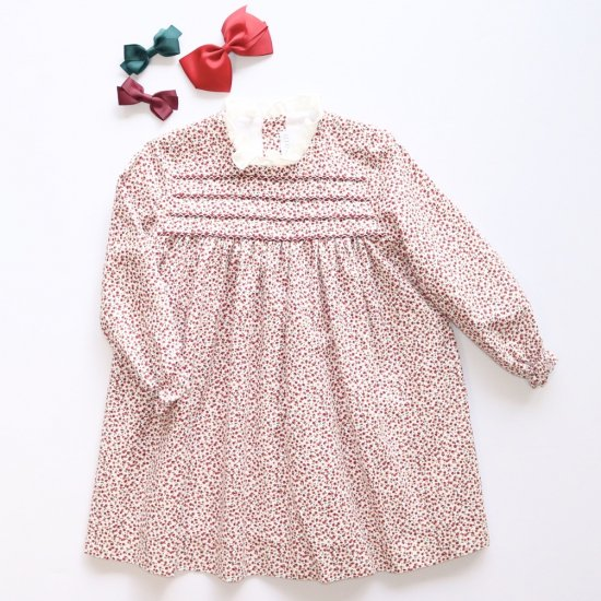 <img class='new_mark_img1' src='https://img.shop-pro.jp/img/new/icons14.gif' style='border:none;display:inline;margin:0px;padding:0px;width:auto;' />Amaia Kids - Villa dress - Cherry アマイアキッズ- チェリー柄ワンピース