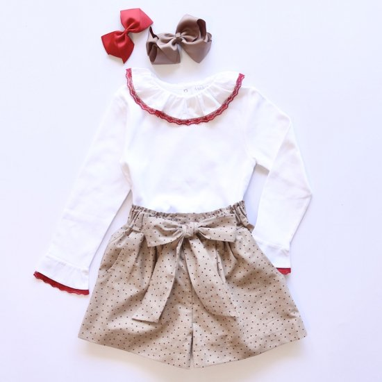 <img class='new_mark_img1' src='https://img.shop-pro.jp/img/new/icons14.gif' style='border:none;display:inline;margin:0px;padding:0px;width:auto;' />Amaia Kids - Pickwick shorts アマイアキッズ - ドット柄パンツ