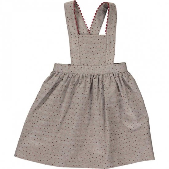 <img class='new_mark_img1' src='https://img.shop-pro.jp/img/new/icons14.gif' style='border:none;display:inline;margin:0px;padding:0px;width:auto;' />Amaia Kids - Lucette skirt アマイアキッズ - ドット柄ジャンパースカート