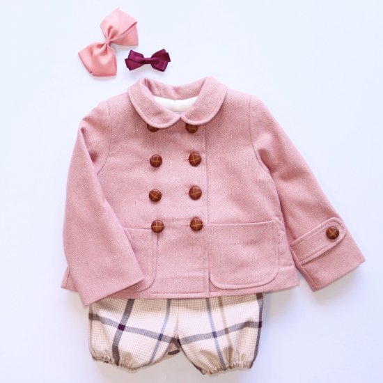 <img class='new_mark_img1' src='https://img.shop-pro.jp/img/new/icons14.gif' style='border:none;display:inline;margin:0px;padding:0px;width:auto;' />Amaia Kids - Isee jacket - Pink アマイアキッズ - ジャケット