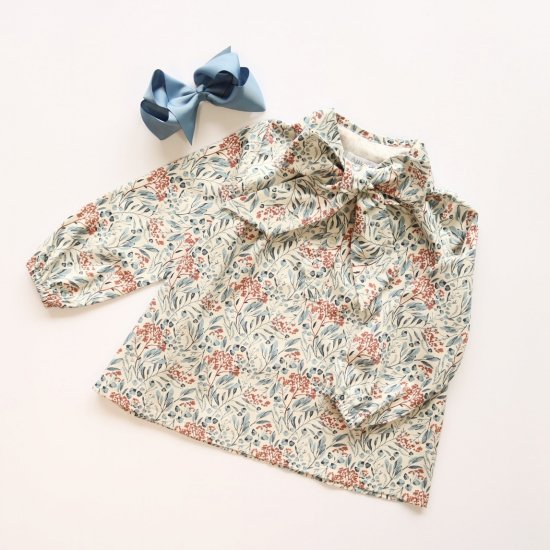 <img class='new_mark_img1' src='https://img.shop-pro.jp/img/new/icons14.gif' style='border:none;display:inline;margin:0px;padding:0px;width:auto;' />Amaia Kids - Chantal blouse アマイアキッズ - ボウタイブラウス