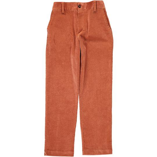 <img class='new_mark_img1' src='https://img.shop-pro.jp/img/new/icons14.gif' style='border:none;display:inline;margin:0px;padding:0px;width:auto;' />Amaia Kids - Theodore trousers - Burnt orange アマイアキッズ - コーデュロイパンツ