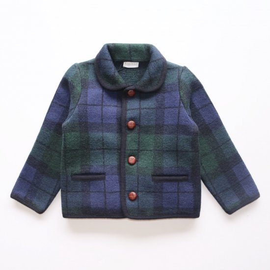 <img class='new_mark_img1' src='https://img.shop-pro.jp/img/new/icons14.gif' style='border:none;display:inline;margin:0px;padding:0px;width:auto;' />Amaia Kids - Redwink Jacket - Tartan アマイアキッズ - ウールジャケット