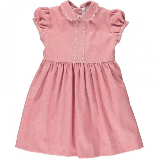 <img class='new_mark_img1' src='https://img.shop-pro.jp/img/new/icons14.gif' style='border:none;display:inline;margin:0px;padding:0px;width:auto;' />Amaia Kids - Eleonoire dress short sleeves - Pink アマイアキッズ - ワンピース