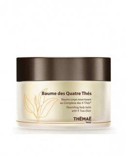 ボーム デ キャトル テ(ボディマッサージバーム)ウッディ/バニラの香り 200ml Baume des Quatre Thes