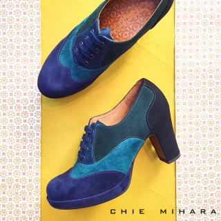 <img class='new_mark_img1' src='https://img.shop-pro.jp/img/new/icons41.gif' style='border:none;display:inline;margin:0px;padding:0px;width:auto;' />【40%OFF】CHIE MIHARA/チエミハラ<br>JUMPY<br>バイカラースエードブーティ