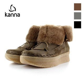 KANNA<br>8852<br>ムートンショートブーツ