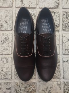 TRAVEL SHOES by chausser<br>TR-001 / DBRN×BLK(ground別注)