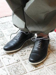 TRAVEL SHOES by chausser <br>TR-001 / BLK×WHT