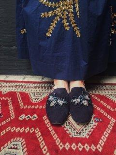 【40%OFF】Pertini 191W14635 ビーズ刺繍バッグストラップシューズ