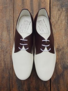 TRAVEL SHOES/ TR-008 <br>DBR×WHT(グラウンド別注)