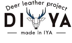 鹿革を藍染した小物や財布の販売サイト DIYA