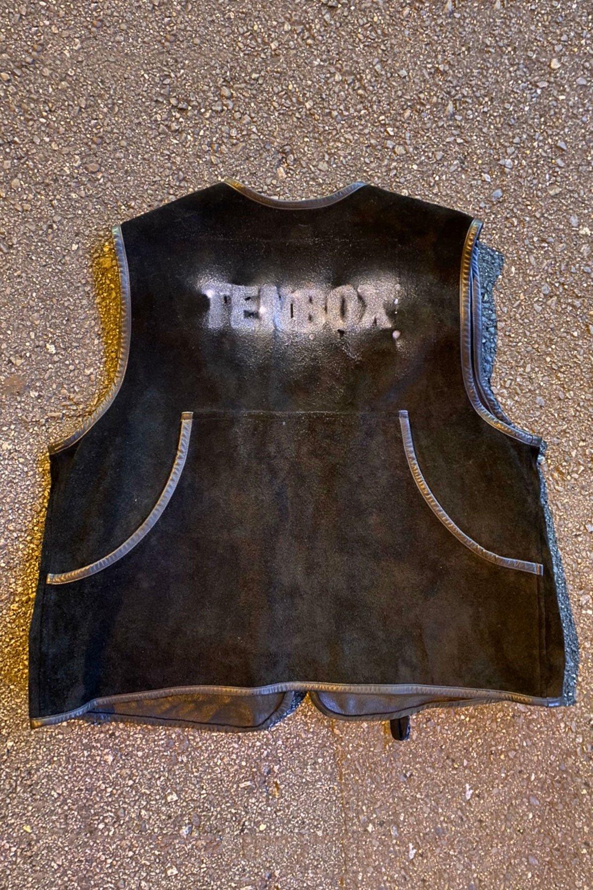 999919 Fishing Vest Stencil by 10匣 Pigu