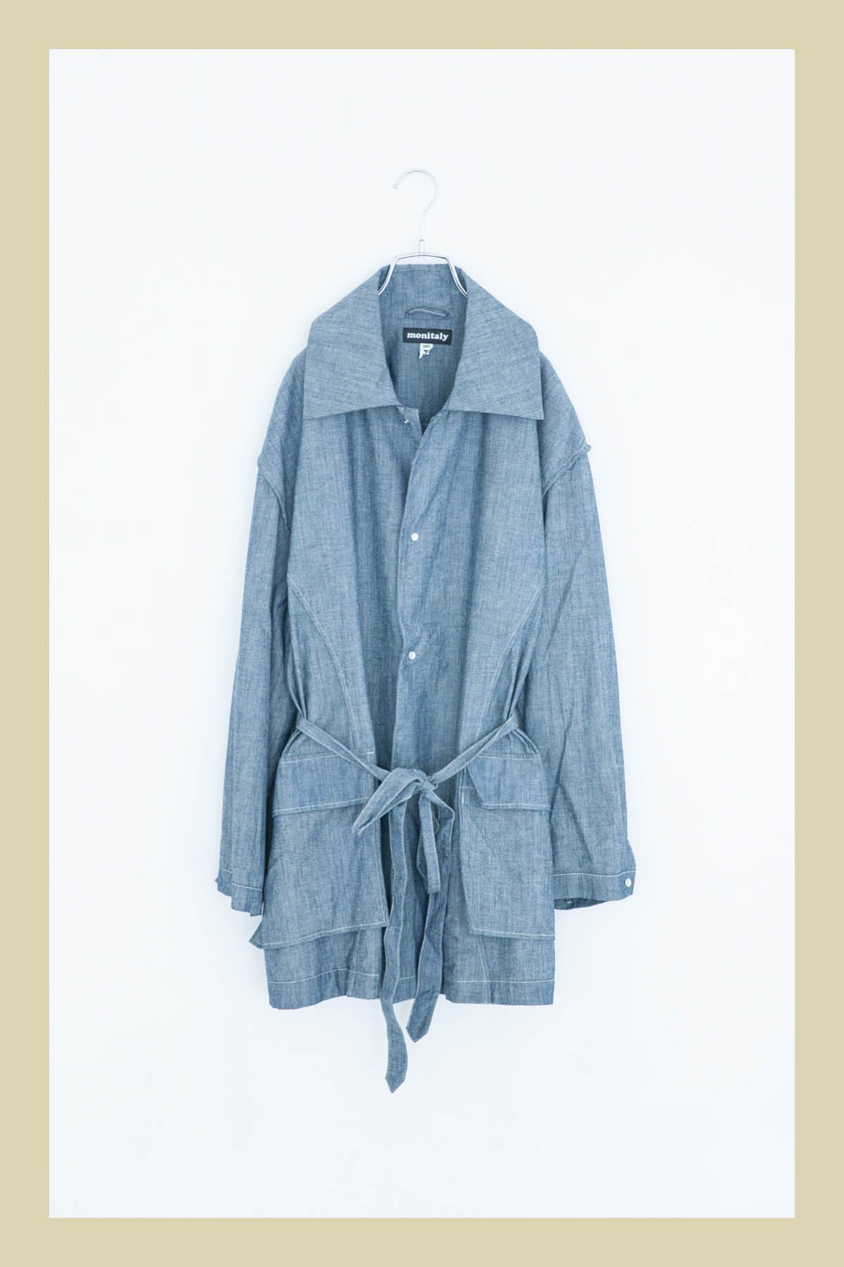 MONITALY / URA JUTE COAT