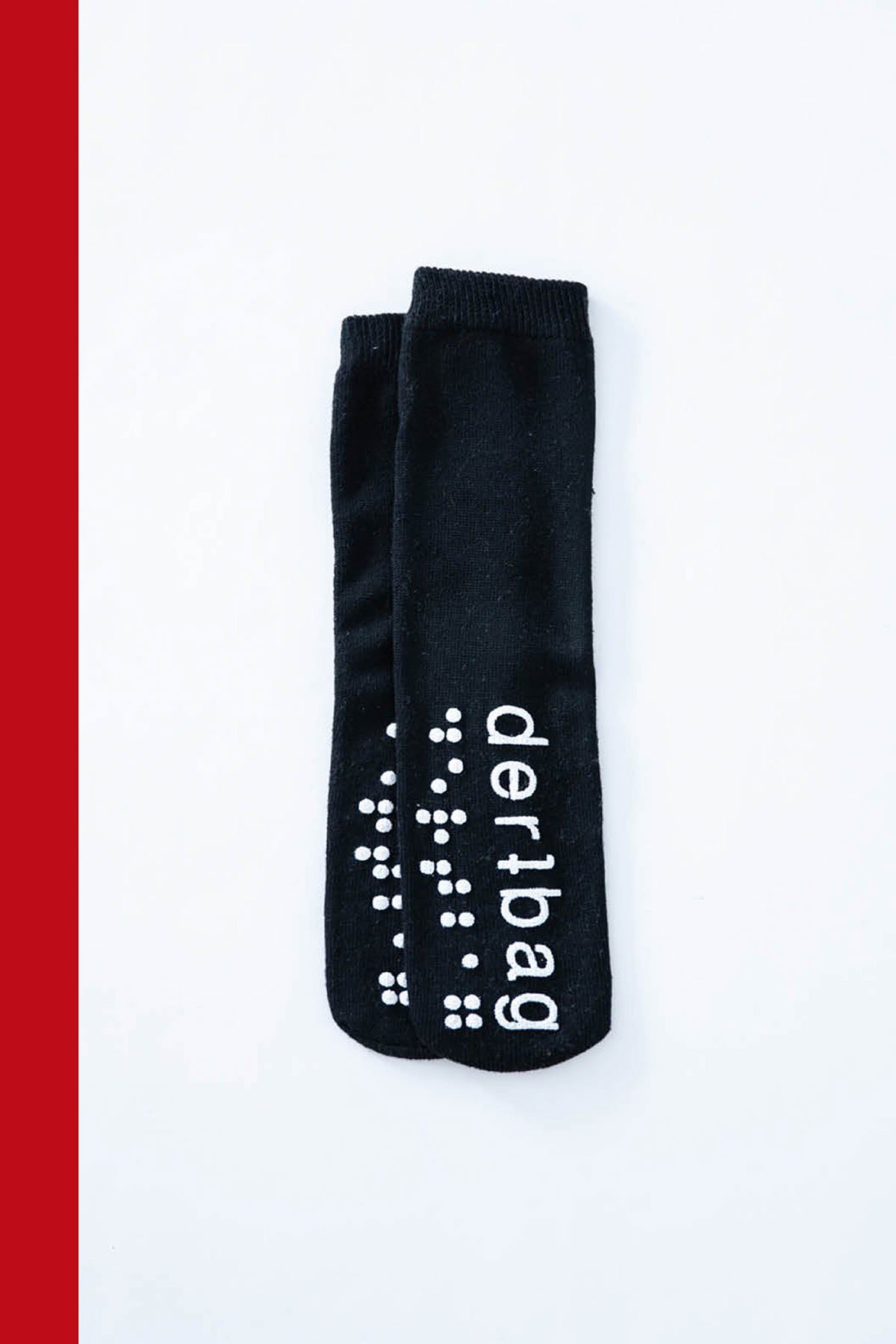 dertbag / SOCKS (BLACK)