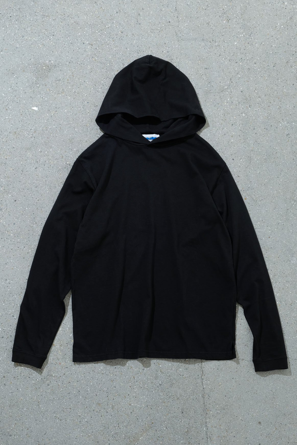 ORIGINAL MADE by IMA:ZINE / LONG SLEEVE HOOD T-SHIRT(BLACK)