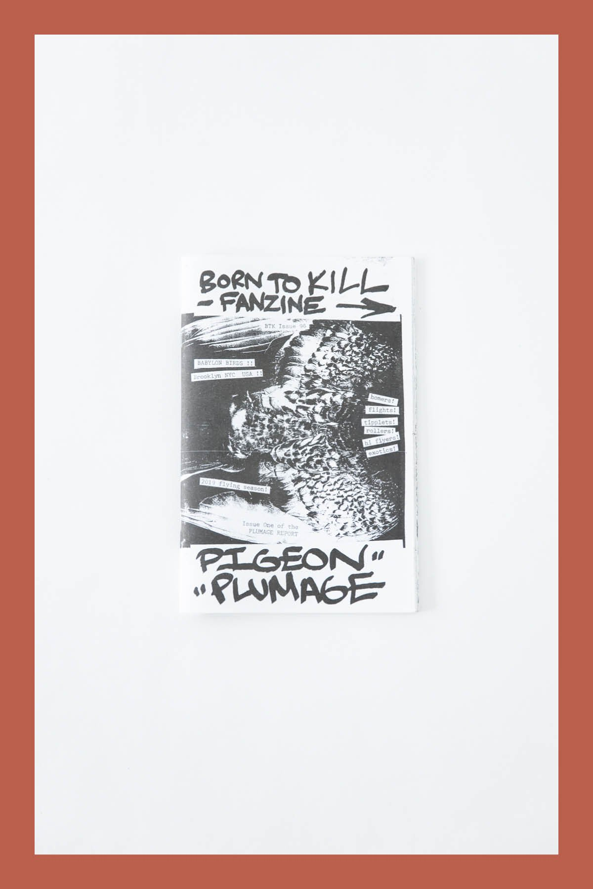 Pat McCarthy / BORN TO KILL ZINE #1