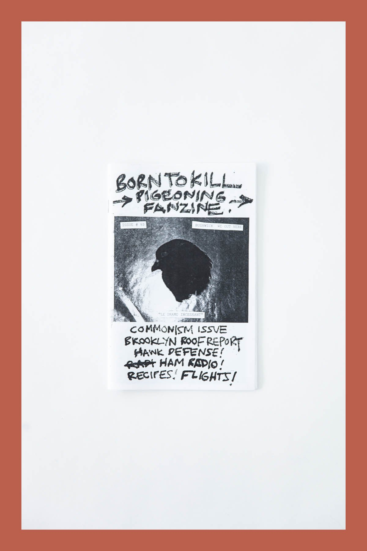 Pat McCarthy / BORN TO KILL ZINE #93