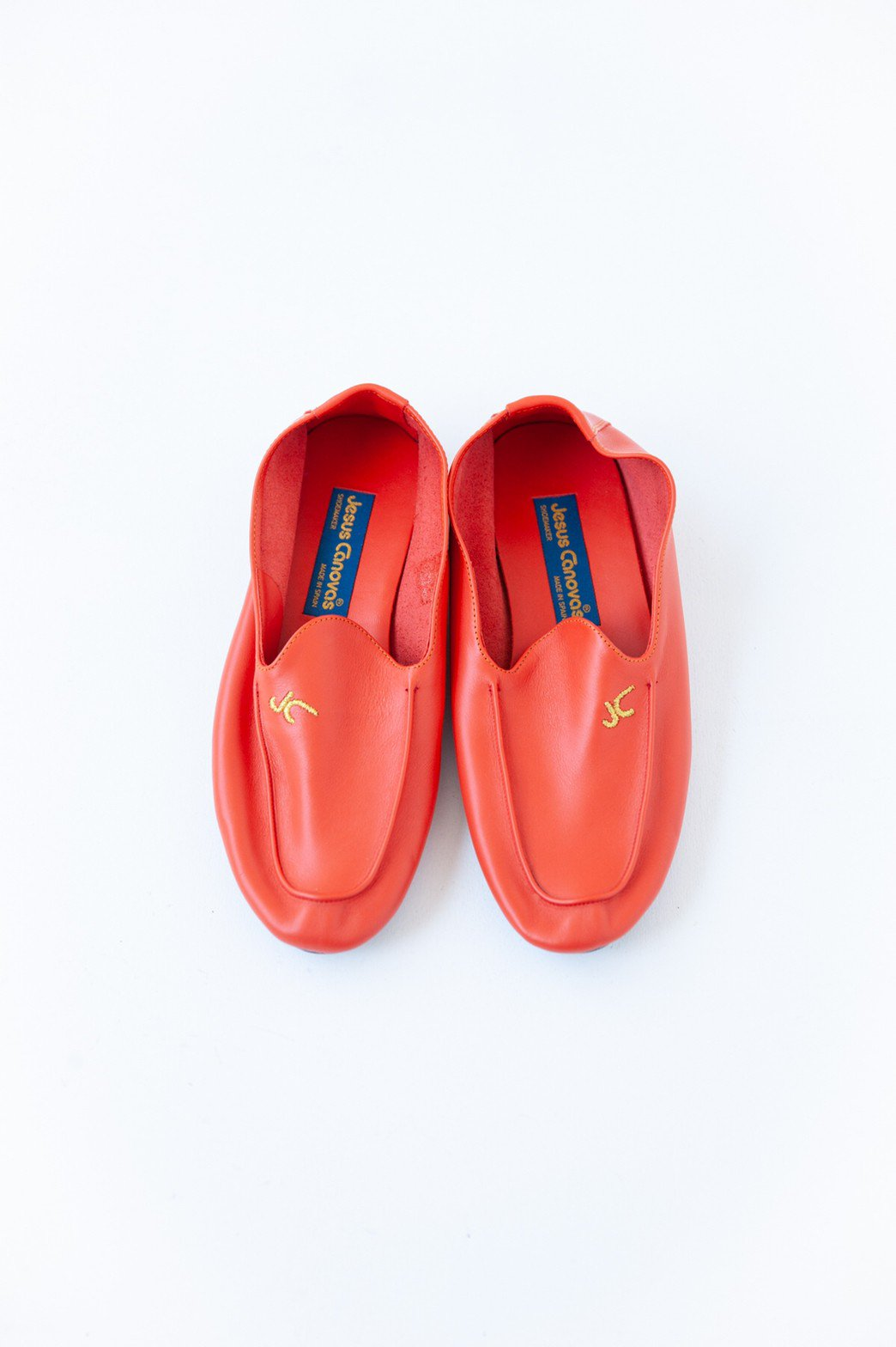 Jesus Canovas / LOAFERS(ORANGE)