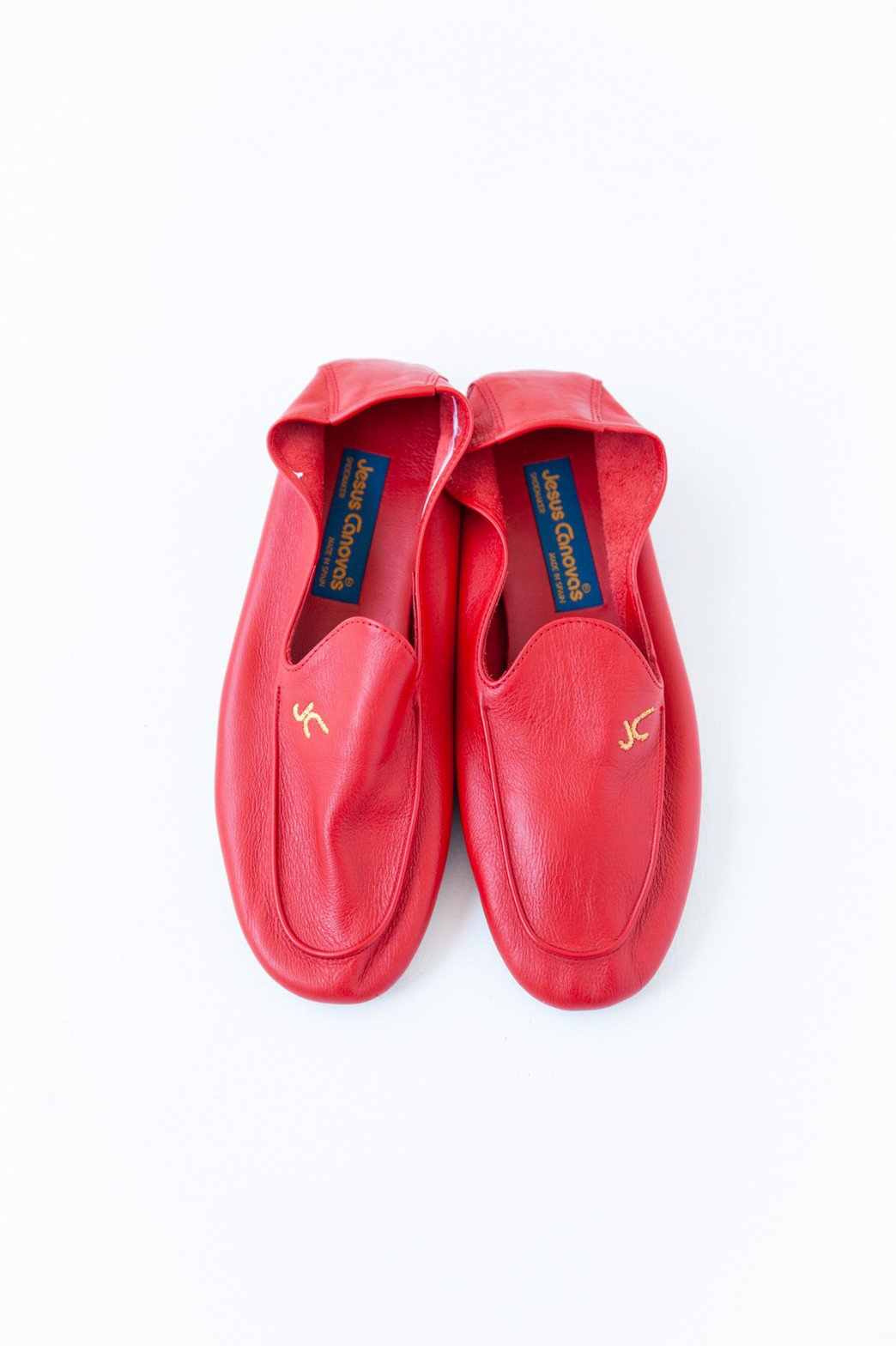 Jesus Canovas / LOAFERS(RED)