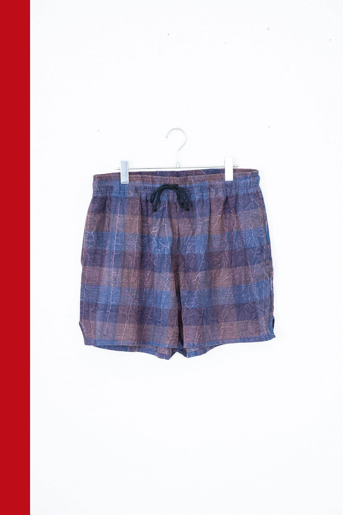 s.k. manor hill /  MT SHORT(BLUE × PURPLE)