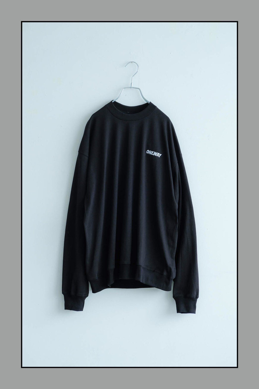 ONEWAY /  Embroidery LOGO L/S TEE