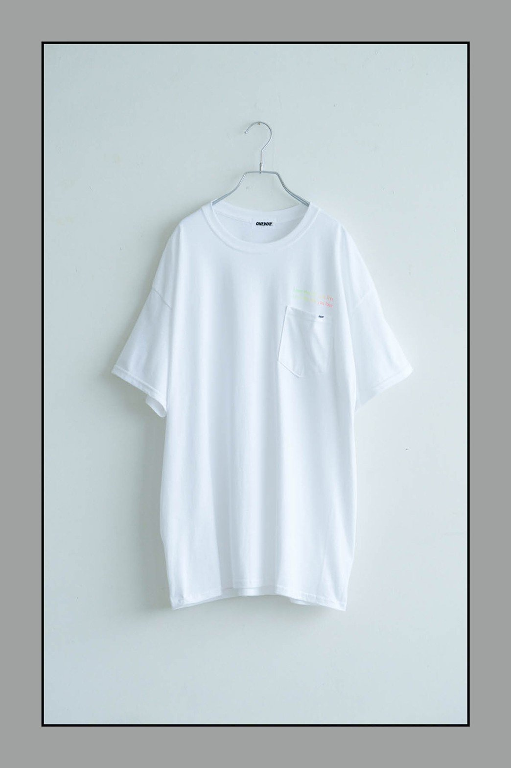 ONEWAY / ONE BARS TEE