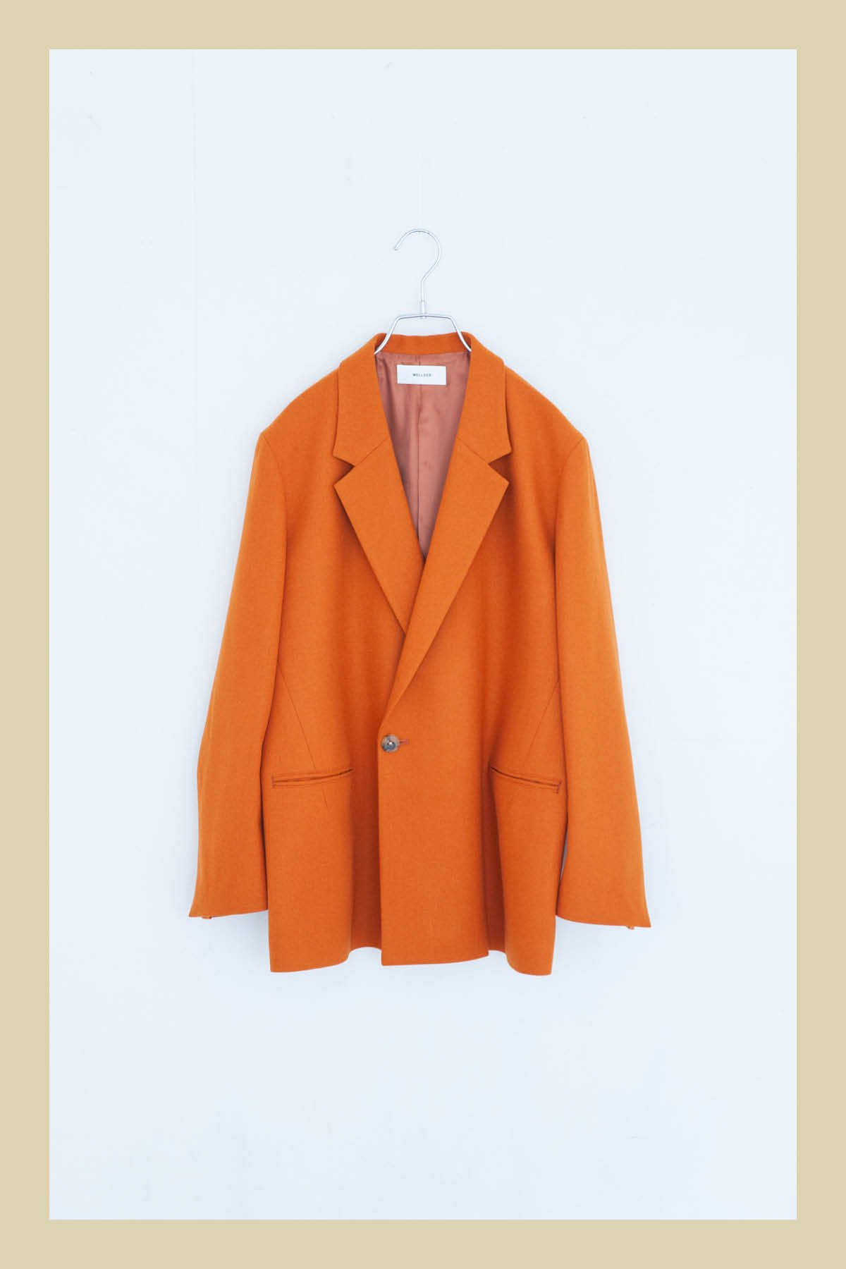 WELLDER / Double Breasted Jacket