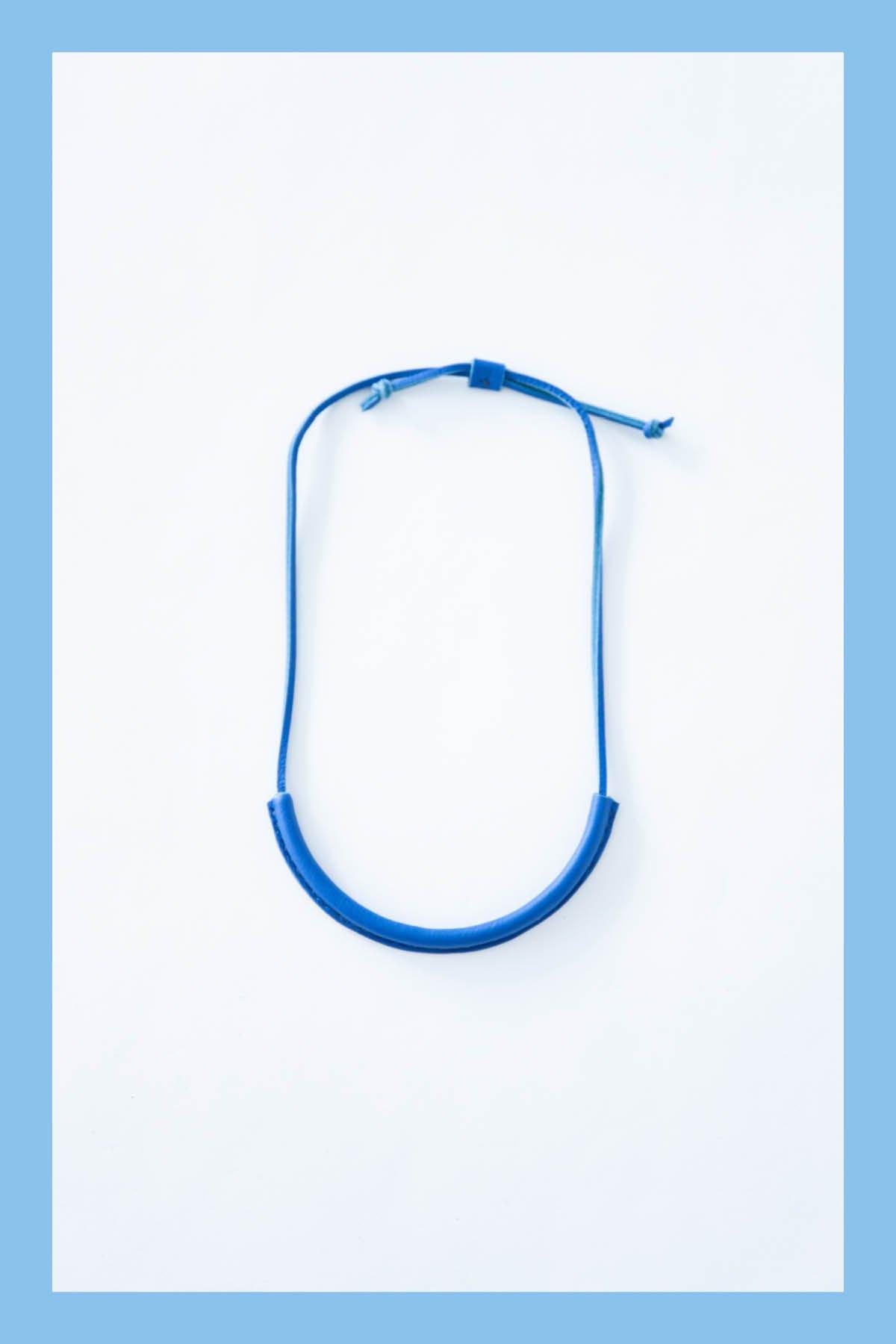 crescioni / CIRCUIT NECKLACE(COBALT)
