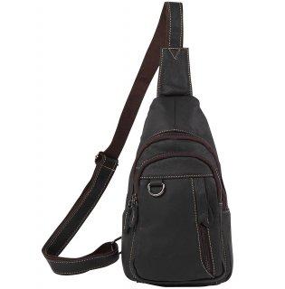 斜めがけ ボディバッグ ワンショルダーバッグ メンズ 本革 レザー バッグ 全2色 ブラック