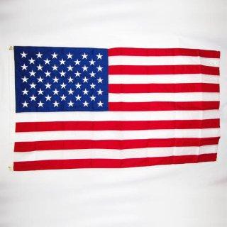 ≪-≫ アメリカ国旗 刺繍タイプ / 150cm×88cm (NEW)