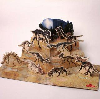 恐竜博物館限定 ポップアップカード