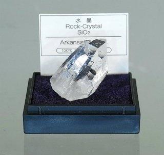 水晶 (ロック・クリスタル) (産地 アメリカ、アーカンソー州)