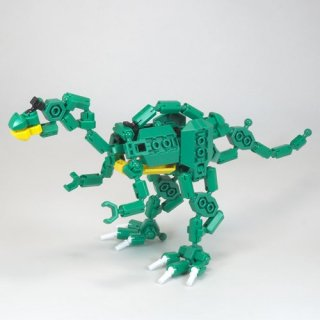 オリジナル アソブロック フクイサウルス【復元モデル】
