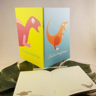 オリジナル A5ノートフクイラプトル&フクイサウルス