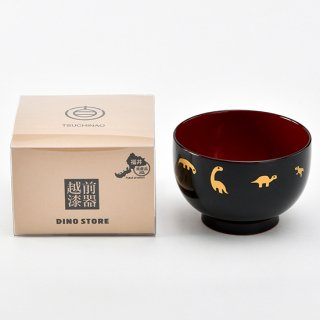 DINOEGG×福井県産品コラボ 越前漆器お椀 小