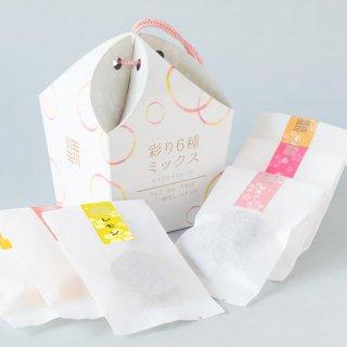 彩り6種ミックス【国産フルーツ使用】セミドライフルーツ